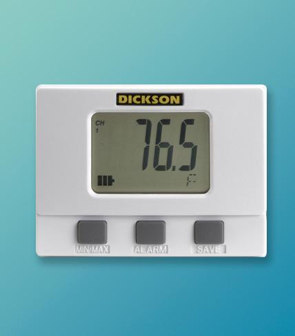Data Logger Dickson Con Display Digital Para Refrigeración Y Congelación › SM320